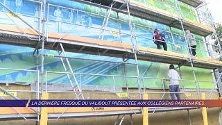 Yvelines | La dernière fresque du Valibout présentée aux collégiens partenaires