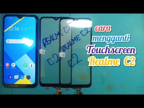 Ganti Layar Sentuh / Touchscreen REALME C2    DI Tunggu Gak Ada 1 Jam Jadi... Alhamdulillah...🙏🏿🙏
