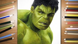 Speed Drawing:  The Hulk | Jasmina Susak