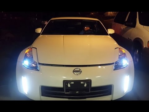 Ijdmtoy Nissan 350z Led Daytime Running Lights Demonstration