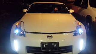 iJDMTOY Nissan 350z LED Daytime Running Lights Demonstration(, 2016-05-13T23:55:22.000Z)