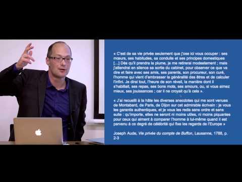 """Antoine Lilti - """"Vies privées, figures publiques : l'invention de la célébrité"""""""