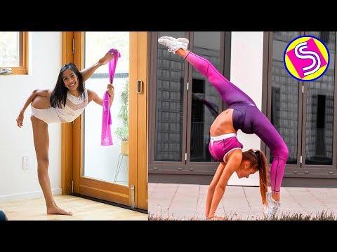 Gymastics&Cheerleading Best TikTok Videos Compilation - Gymnastics Skills Battle 2019