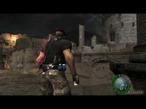 resident evil 4 how to change costume pc