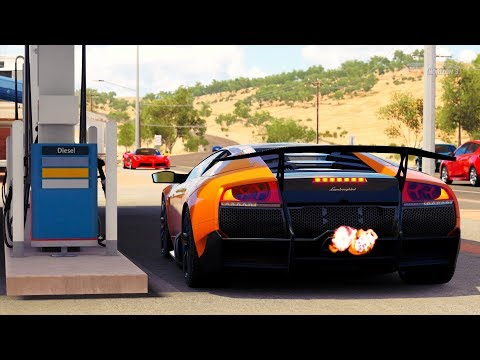 Forza Horizon 3 Lamborghini Murcielago Sv Gameplay Hd 1080p Youtube