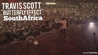 Travis Scott Performs 34 Butterfly Effect 34 In South