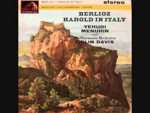 BERLIOZ - Harold en Italie Op. 16 (Sir Colin DAVIS/Philarmonia Orchestra) - COMPLETE