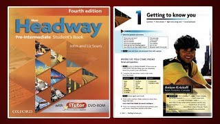 (Update) New Headway Pre-Intermediate Student's Book 4th :Unit.1 -Getting to know you