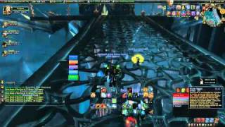 Resto Shaman healing in Forge Of Souls HC 5 man in WoW 3.3.5 (part1/2)