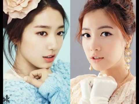 (Ex-T-ara) Hwayoung and (5Dolls) Hyoyoung twins (Look ...
