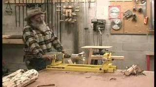 How To Make Log Furniture