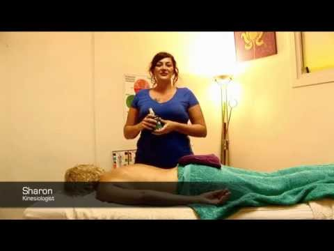 Sharon using Ocean Mineral, Magnesium Oil Therapy