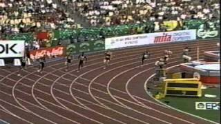 1999 IAAF World Track and Field Championships 200m quarterfinal 2, CBC Coverage