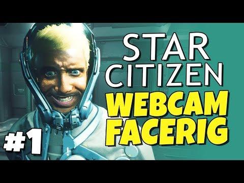 Star Citizen - FOIP Face Tracking #1 - Space Shopping