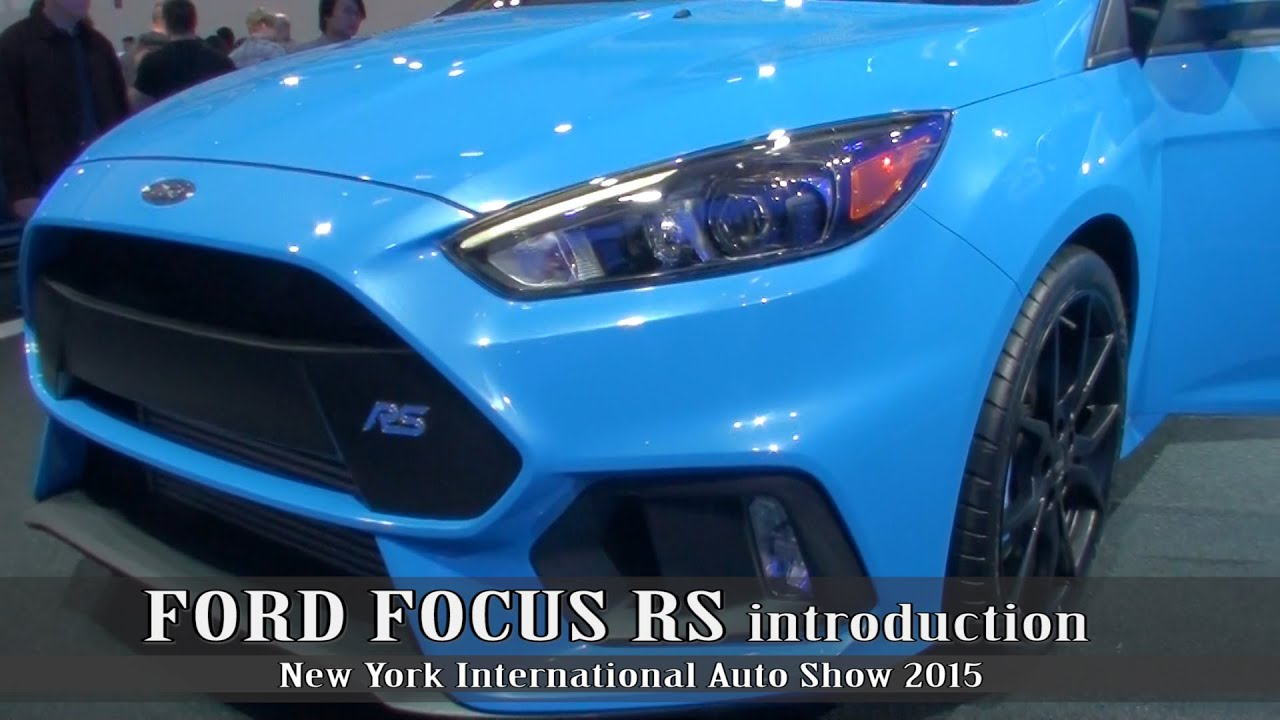 Awd Ford Focus Rs Introduction What 1 4 Mile Are We Looking At