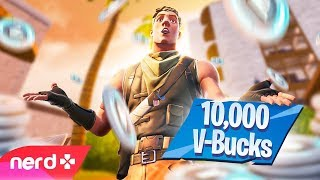 Fortnite | First person to carry me to a win gets 10,000 V-Bucks