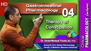 GIT Pharmacology - 04 - Therapy of constipation