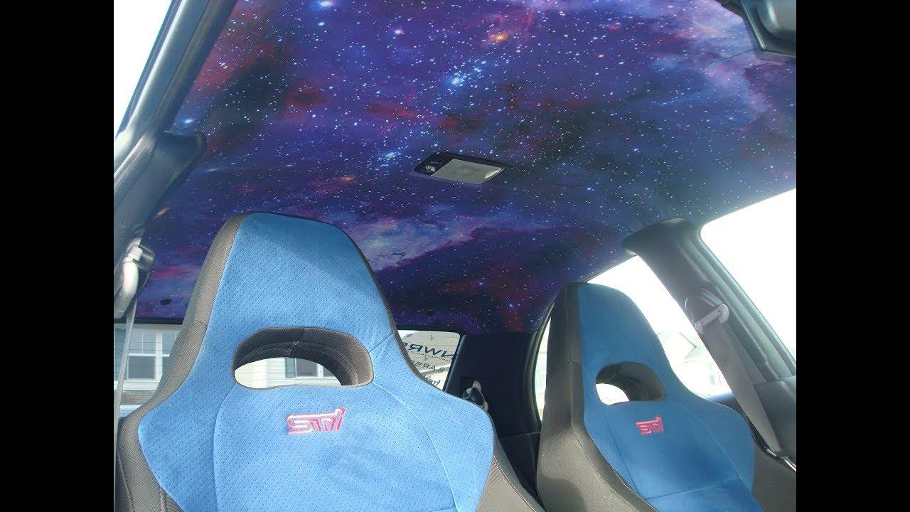 galaxy headliner for car