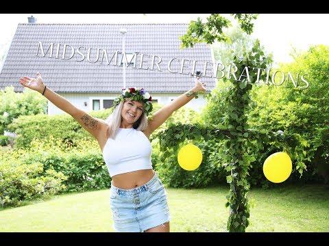 Celebrating Swedish Midsummer!
