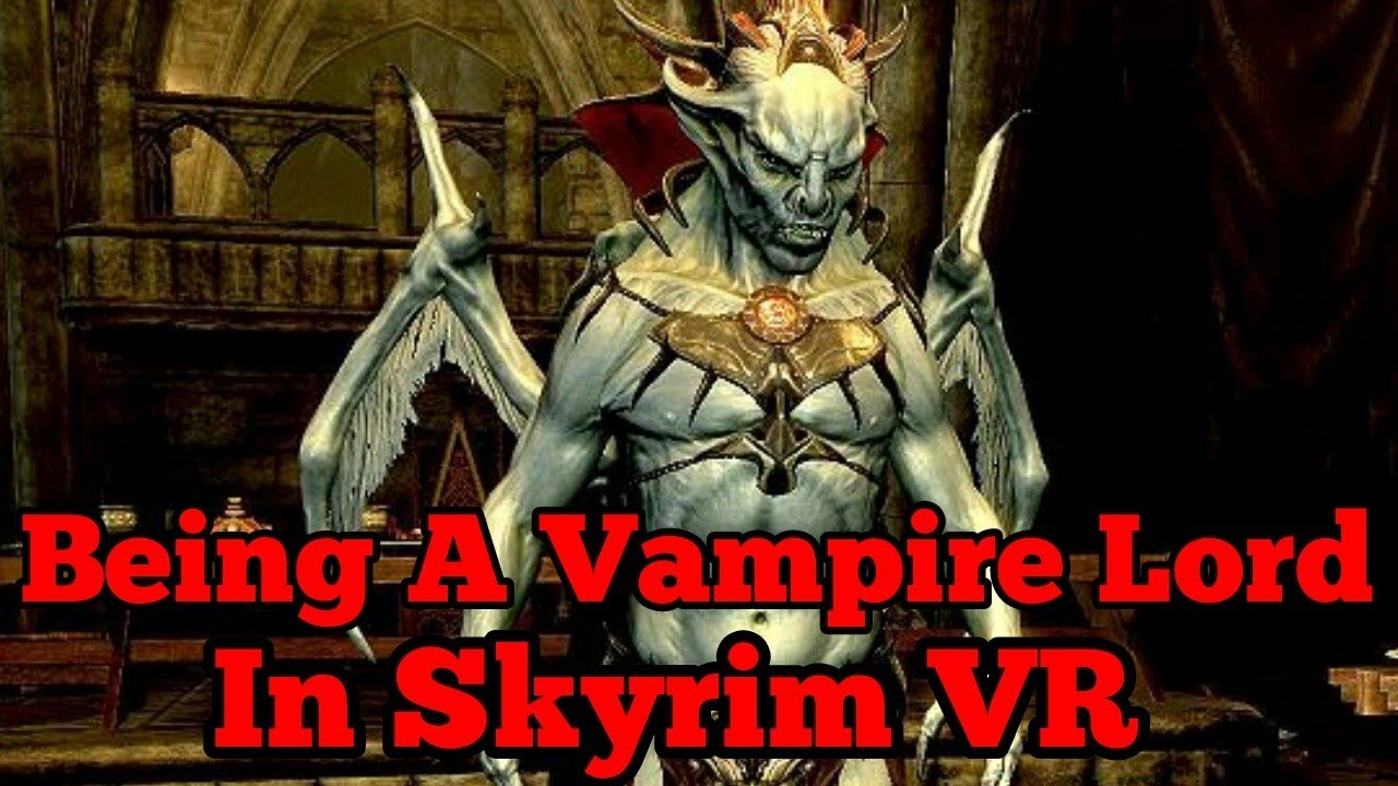 how to become a vampire lord in skyrim