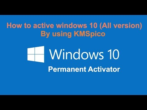 activator windows 10 all version