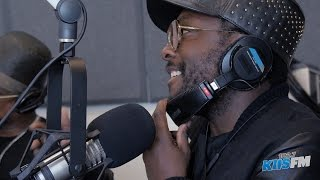 Black Eyed Peas In-Studio For The Release Of Their Where s The Love Remake