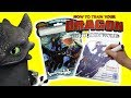 How to Train Your Dragon 3 Toothless Light Fury Imagine Ink Activity Coloring Book