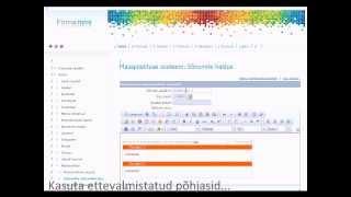 Kodulehe tegemine.wmv(Kodulehe tegemine, demovideo http://www.elitec.ee., 2011-10-22T16:38:12.000Z)
