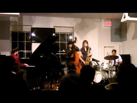 Melissa Aldana Quartet at the jazz Gallery
