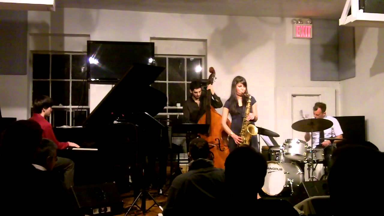 video: Melissa Aldana Quartet at the jazz Gallery