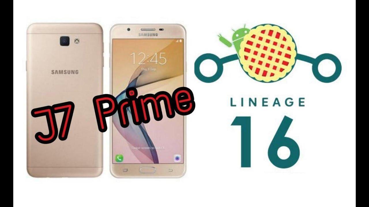 [ROM] Lineage Os 16 (Pie) For J7 Prime SM-G610F