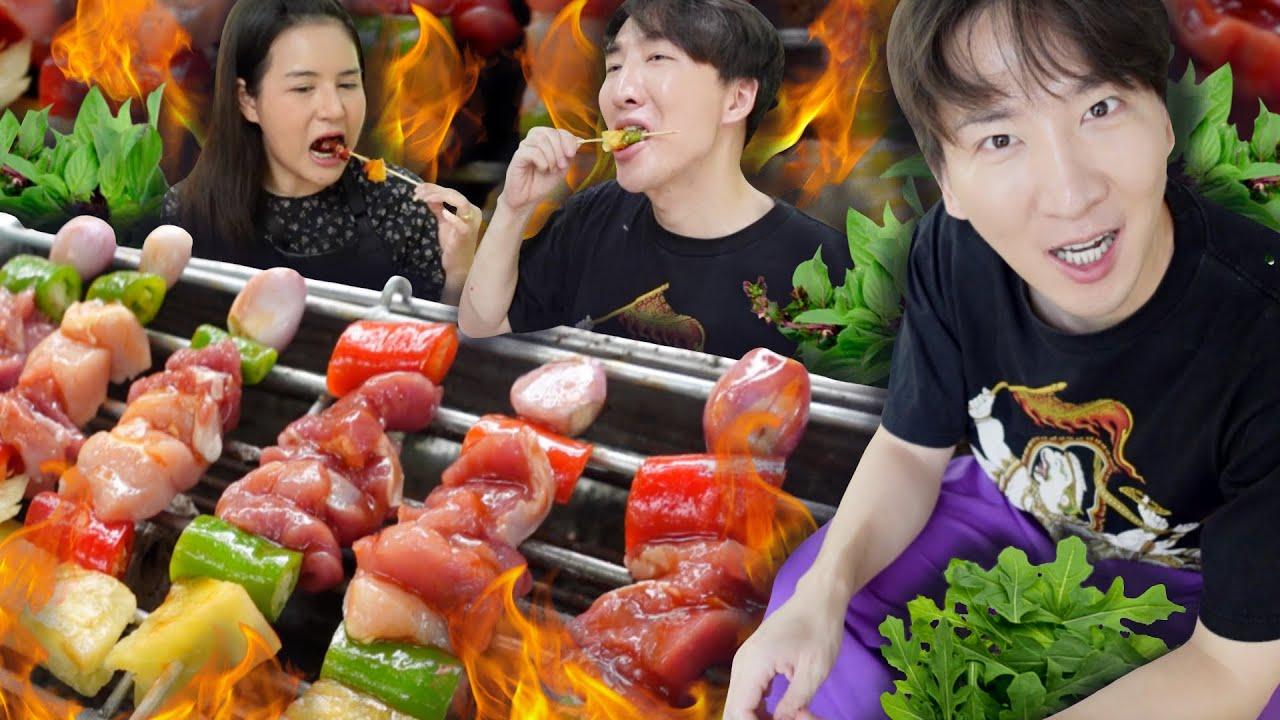 [329 ]เกาหลีผู้ที่หิวตลอดเวลา กับบาร์บีคิวน้ำฉ่ำ สูตรอร่อยของโอปป้า :โอปป้า อยู่ที่บ้านนอก▕ RYUNTIME