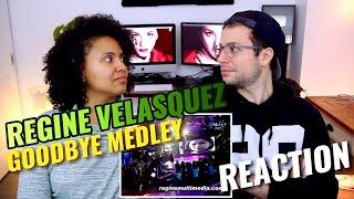 Regine Velasquez - Goodbye Medley   REACTION