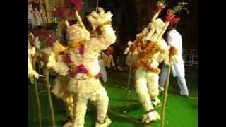 Indian Folk Dance--Nahar Nritya ( Maandal Village, Bhilwara ) 2012