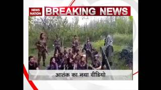 Hizbul Mujahideen terrorists release another video, warning Indian estalishment