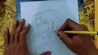 How To Draw UCHIHA SASUKE PART 2 | Naruto Shippuden
