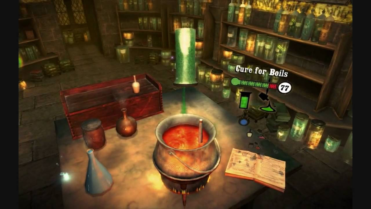 Harry Potter And The Half Blood Prince: The game - Walkthrough ...