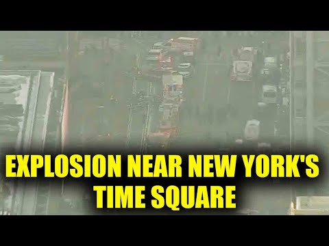 Manhattan: Explosion take place in Port Authority bus terminal near New York's Times Square|Oneindia