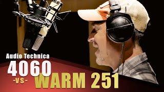 Warm Audio WA251 vs Audio Technica at4060a   Voice Over Mic Comparison