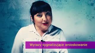 176. Wyrazy sygnalizujące w tekstach. Przyda się na maturze z polskiego.