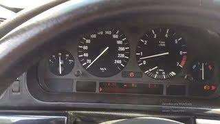BMW E39 #Не работает спидометр #Горит ABS и ASC