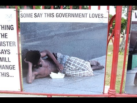 Street Dwelling - The Shame of Port of Spain Q E D