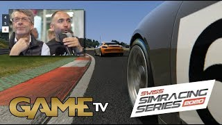 Game TV Schweiz - SWISS SIMRACING SERIES 02.11.2019