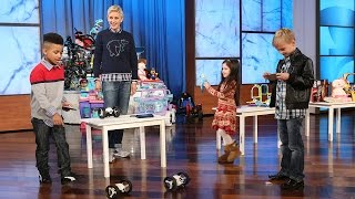 Ellen's Toy Testers Are Here!