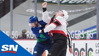 Brady Tkachuk Lets Fists Fly | NHL Fights Of The Week