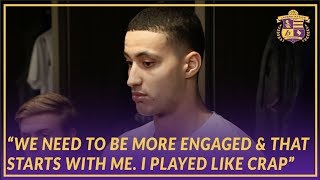 Lakers Post Game: Kuzma Takes Blame for the Lack of Energy Early And Underestimating the Cavs