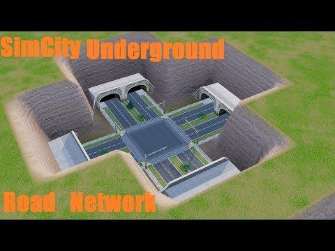 SimCity: Underground Road Network (Redux) After  Update 10