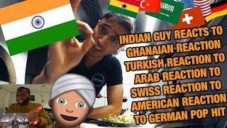 INDIAN GUY REACTS TO REACTIONS TO GERMAN POP HIT I Namika - Je ne parle pas francais feat. Black M