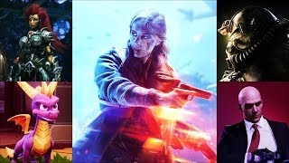 Top 5 Games You Need to Play in November 2018