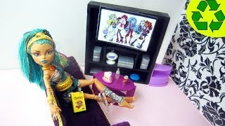 Make A Doll Flat Screen Tv - Doll Crafts